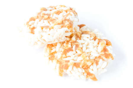 drizzle: Thai Sweet Crispy Rice Cakes with Cane Sugar Drizzle
