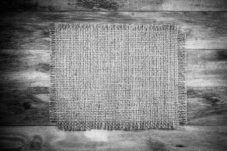 sack background: Old wood with Sack background Stock Photo