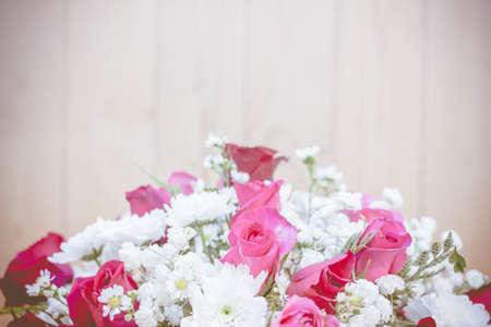 nourish: Soft color Roses Background.