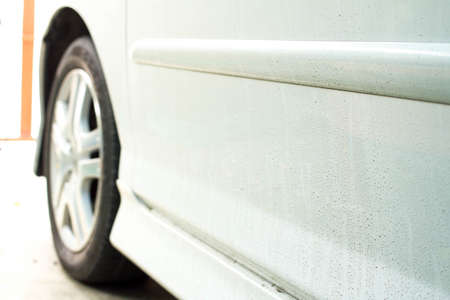 dirty car: Dirty car