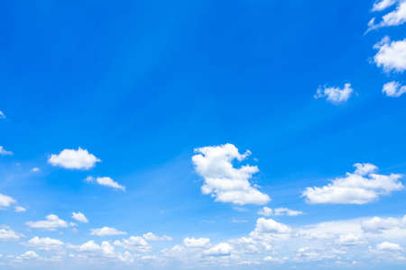 Cloudscape with Blue Sky