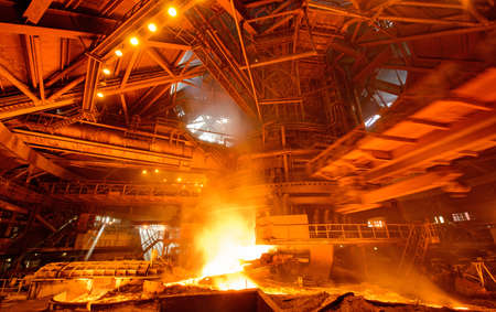 molten: plant for the production of iron and steel