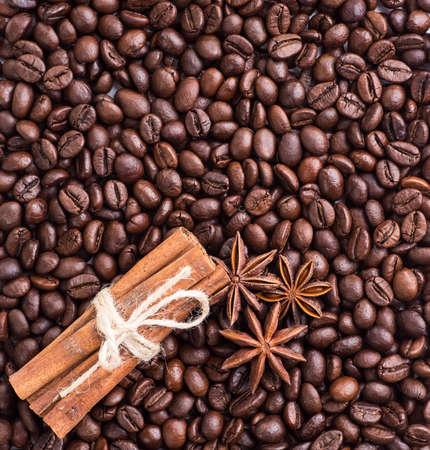 granos de cafe: Los granos de caf?