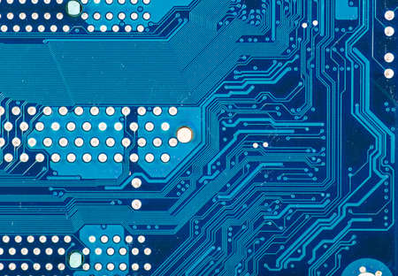 circuit board background of computer motherboard Stock Photo