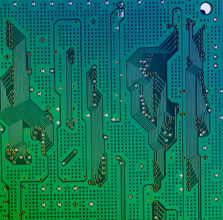 hard component: Integrated Circuit Board of a Hard Disk