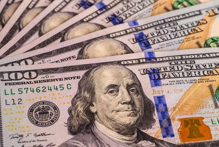Money American dollar bills Stock Photo