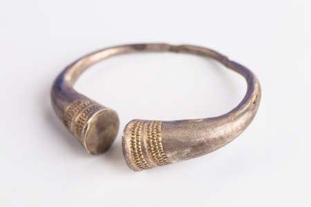 silver jewelry: Collection of silver ethnic jewelry.