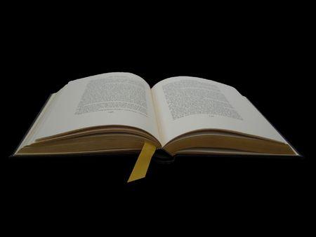 An open book Banco de Imagens