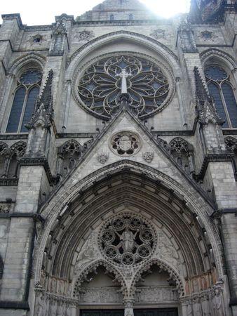 Above the church doors