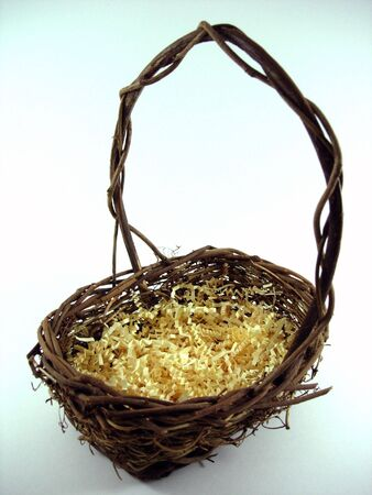 An Easter basket