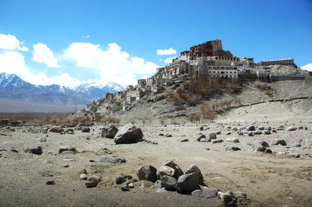 A temple in Tibet photo