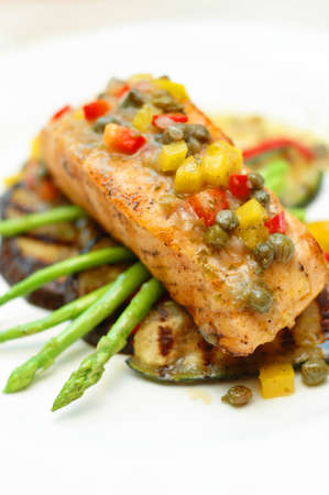 Salmon Steak photo