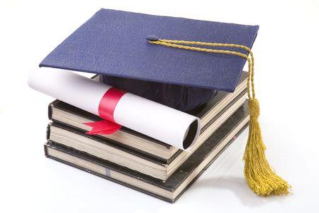 bachelor s degree: graduate Stock Photo