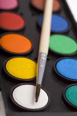 water paint Standard-Bild
