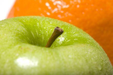 green apple Standard-Bild