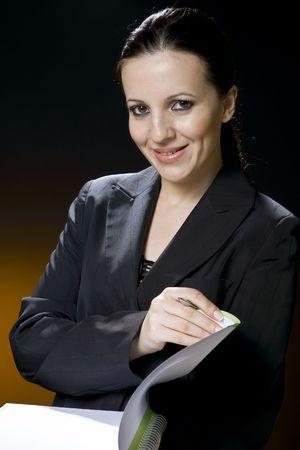 business woman Standard-Bild