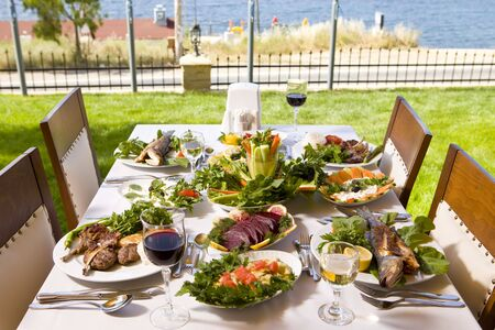 restaurant Standard-Bild