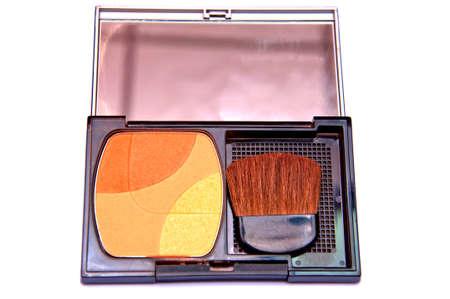 maquillage: blush set  Stock Photo
