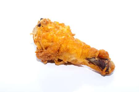 Baquetas de oro marr�n pollo frito  Foto de archivo - 10421504