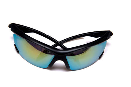 Modern sun glasses isolate on white back ground  photo