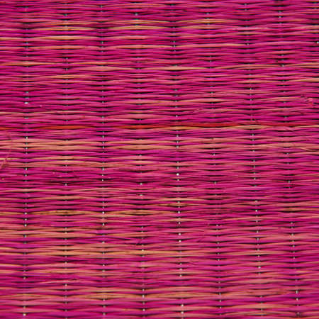 Woven wicker for background texture  photo