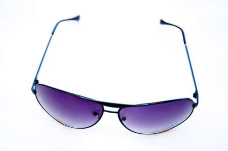 sun glasses isolated on white background  photo