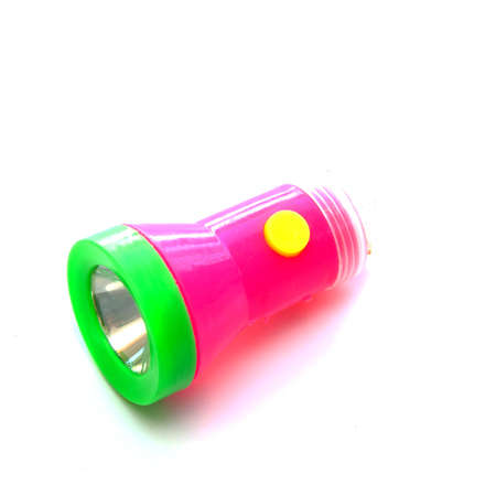 flashlight isolated on white background  photo