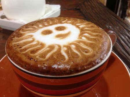 capuchino: Capuchino coffee cup
