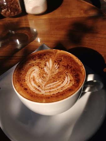 Capuchino coffee Stock Photo