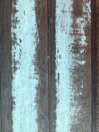 Old blue wood for background