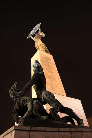 The Liberty Statue (Szabadság Szobor) of Budapest photo