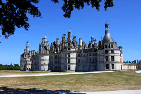 The Castle of Chambord Stock Photo