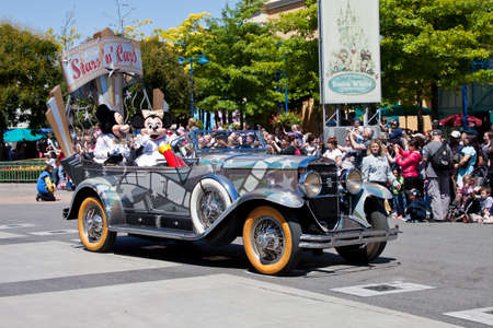 Paris, 1 June 2011: Disney Stars and Cars Parade
