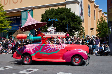 Paris, 1 June 2011: Disney Stars and Cars Parade Stock Photo - 10499705