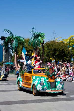 seven dwarfs: Paris, 1 June 2011: Disney Stars and Cars Parade