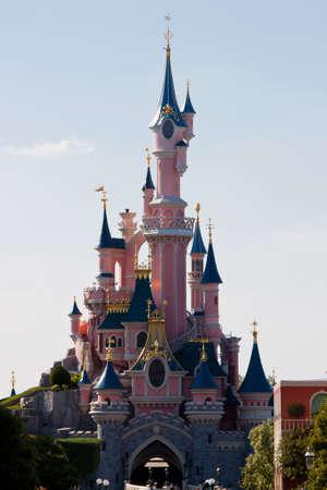 Paris, France, 01 June 2011 - Disneyland Paris Castle Stock Photo - 10666676
