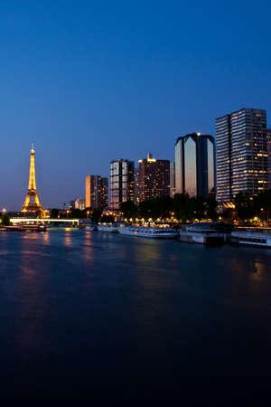 Paris, France, 02 June 2011 - Paris at night