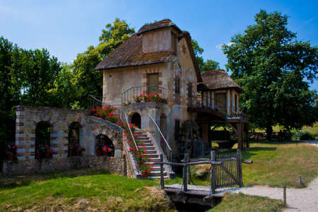 The , watermill cottage built for Marie Antoinette