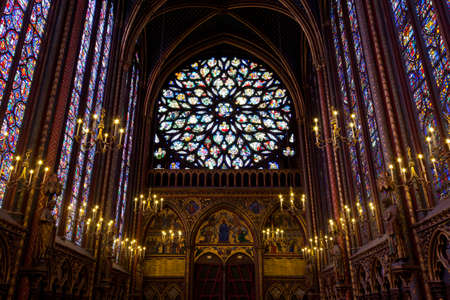 Paris, 13 June 2011 - Sainte Chapelle (Holy Chapel) Stock Photo - 10938545