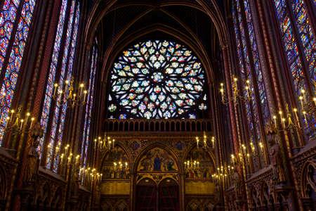 Paris, 13 June 2011 - Sainte Chapelle (Holy Chapel)