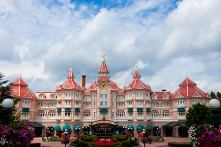 Paris, 10 June 2011 - Entrance in Disneyland Paris
