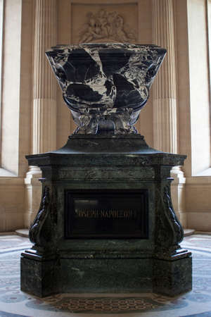 napoleon: Joseph Napoleon Tomb at Les Invalides in Paris.