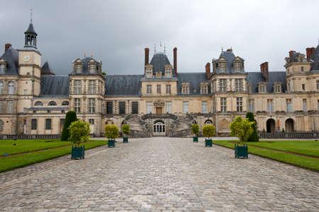 napoleon i: Chateau de Fontainebleau, residence of Napoleon I, Paris