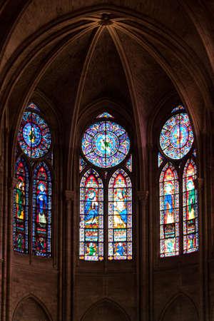 trave: Notre Dame Cathedral Interior, Paris, France