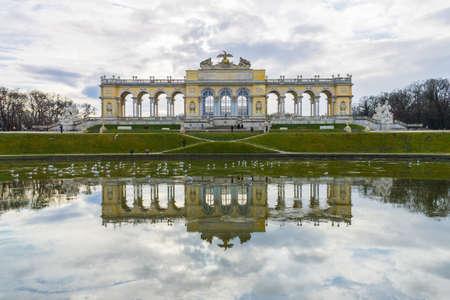 The Gloriette in the Schonbrunn Palace Garden, Vienna, Austria Stock Photo - 13825088