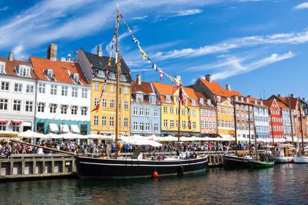 Nyhavn in Copenhagen, Denmark Stock Photo - 15155612