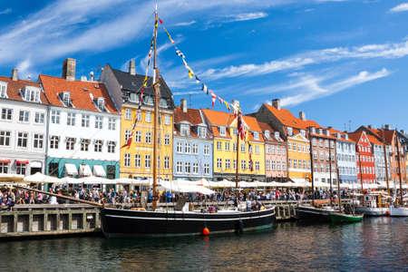 copenhagen: Nyhavn in Copenhagen, Denmark