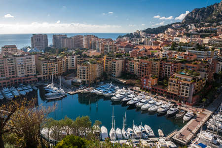 Monte Carlo skyline, French Riviera photo
