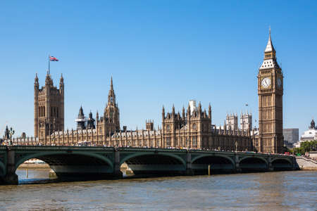 constitutional law: Houses of Parliament and Big Ben, London