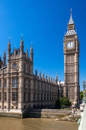 constitutional law: Big Ben, London Stock Photo
